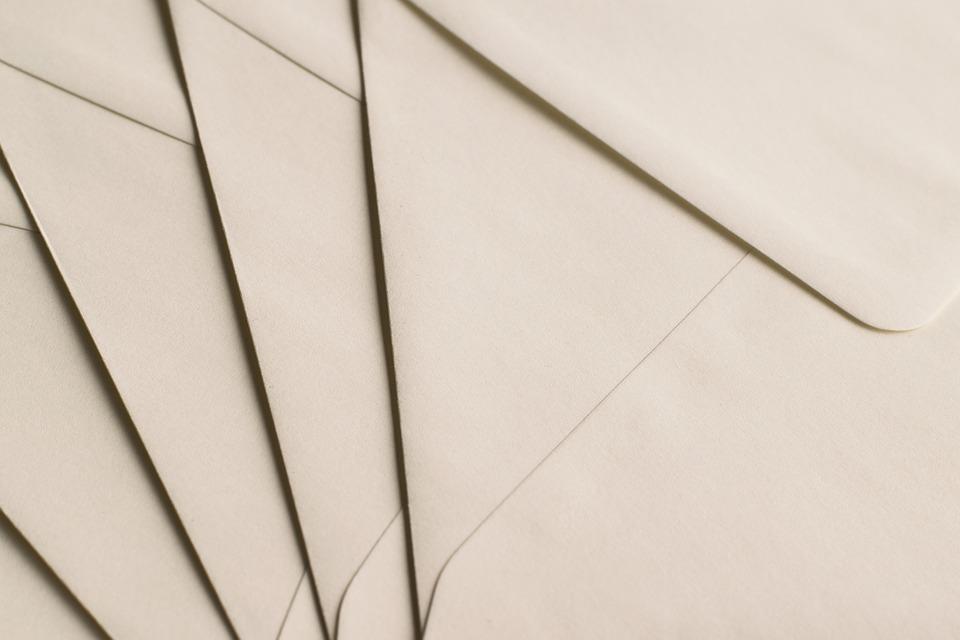 dopisové obálky