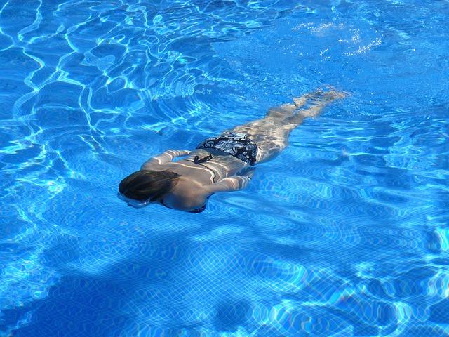 vodní plavec