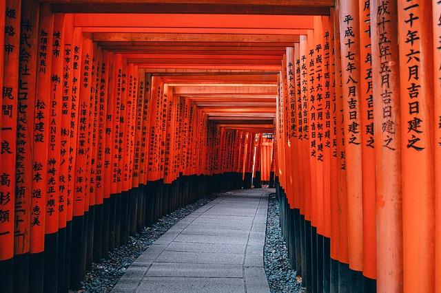 cesta do chrámu