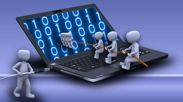 přetahování na internetu